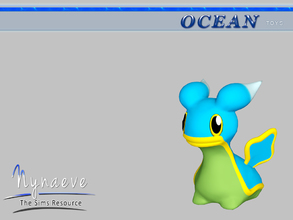 Sims 3 — Shellos (East) by NynaeveDesign — Ocean Toys - Shellos East Located in: Kids - Toys Price: 53 Tiles: 0.5x0.5