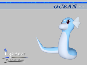 Sims 3 — Dratini by NynaeveDesign — Ocean Toys - Dratini Located in: Kids - Toys Price: 53 Tiles: 1x1.5 Re-colorable: yes