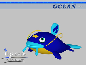 Sims 3 — Whiscash by NynaeveDesign — Ocean Toys - Whiscash Located in: Kids - Toys Price: 53 Tiles: 1x0.5 Re-colorable: