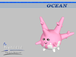 Sims 3 — Corsola by NynaeveDesign — Ocean Toys - Corsola Located in: Kids - Toys Price: 53 Tiles: 0.5x0.5 Re-colorable: