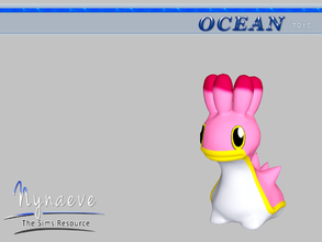 Sims 3 — Shellos (West) by NynaeveDesign — Ocean Toys - Shellos West Located in: Kids - Toys Price: 53 Tiles: 0.5x0.5