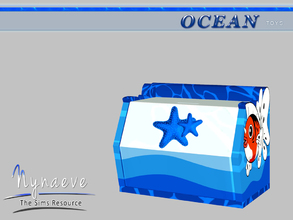 Sims 3 — Toy Box by NynaeveDesign — Ocean Toys - Toy Box Located in: Kids - Toys Price: 153 Tiles: 1x1 Re-colorable: yes