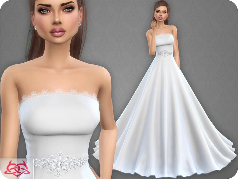 Colores Urbanos' Wedding Dress 9 (original mesh)