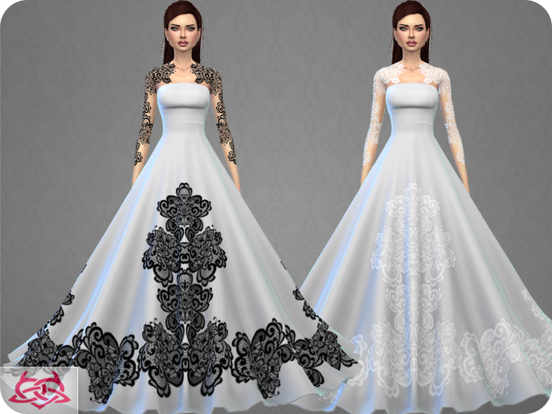 Colores Urbanos Wedding Dress 9 RECOLOR 4 Needs Mesh