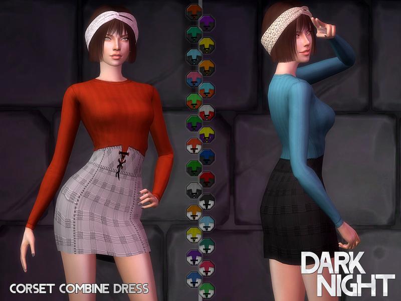 DarkNighTt's Corset Combine Dress