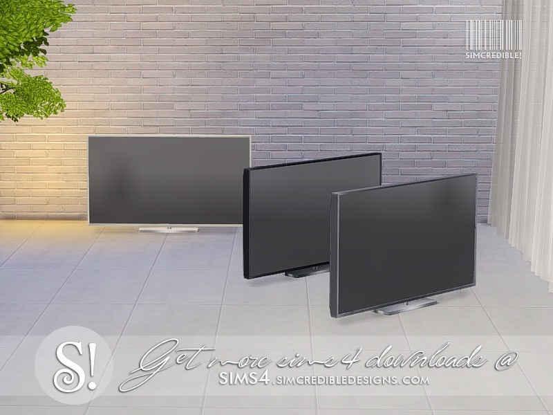 Simcredible 39 s dual channel tv for Muebles sims 3