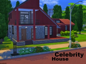 Sims 4 — Celebrity House NO CC by godkamia — This is a close replica of Lee Hyori and Lee Sangsoon's house, located on