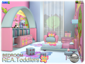 Rea toddlers bedroom Sims 4 Kids Bedroom Sets