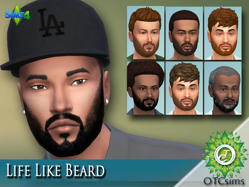 Top Five Sims 4 Beards - Circus