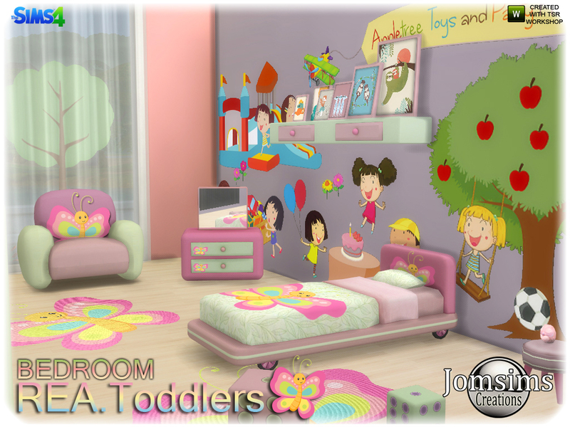 jomsims rea toddlers bedroom rh thesimsresource com