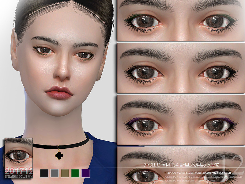 beceeca8033 S-Club WM ts4 eyelashes 201712