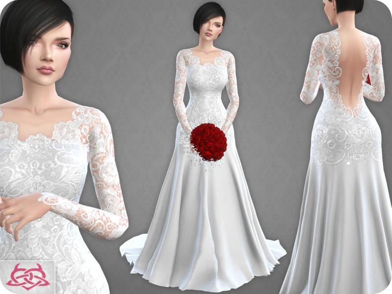Colores Urbanos Wedding Dress 10 Original Mesh