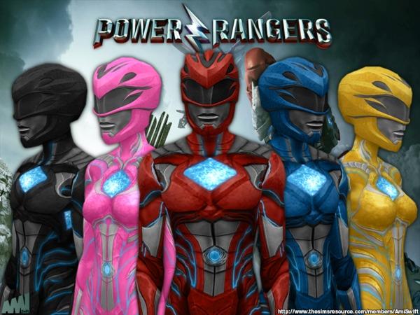 Power Rangers Set