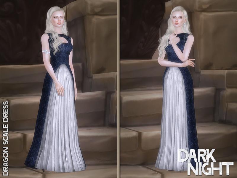 Darknightt S Dragon Scale Dress