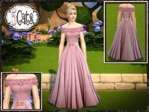 sims 4 downloads   gown
