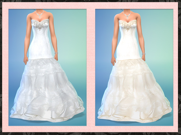 Strapless Mermaid Wedding Gown: Five5Cats' Strapless Mermaid Bridal Gown