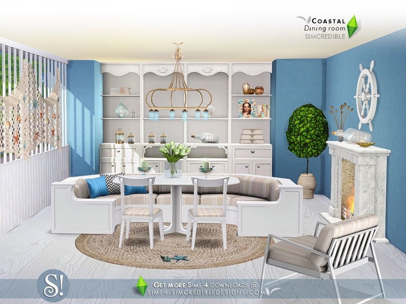 SIMcredible!\'s Coastal Dining room