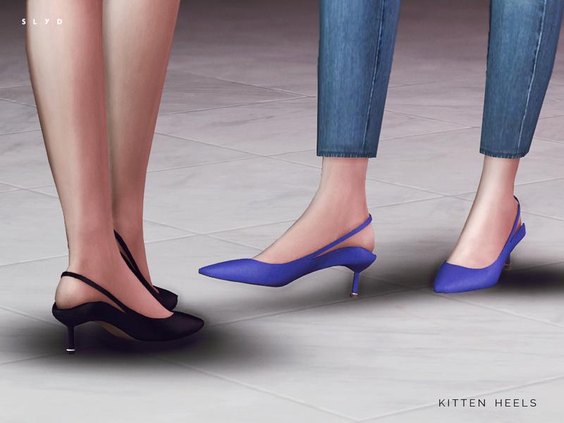 SLYD's Kitten Heels