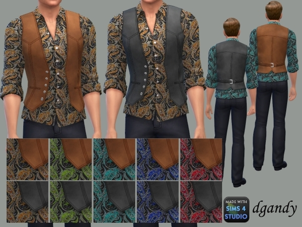 Shirt and Vest A