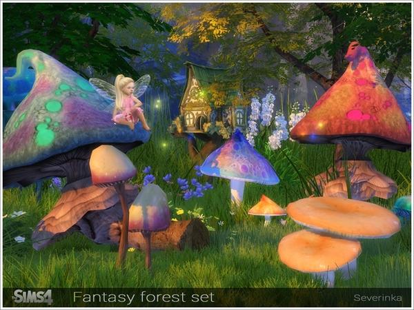Fantasy forest set