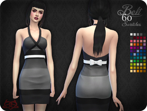 Sims 4 — Belt 10 (original mesh) by Colores_Urbanos — 60 colors - Find the belt in gloves New mesh made by me - Your game