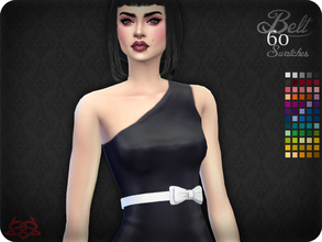 Sims 4 — Belt 12 (original mesh) by Colores_Urbanos — 60 colors - Find the belt in gloves New mesh made by me - Your game