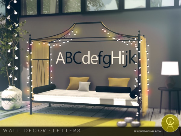 Sims  Letters For The Wall
