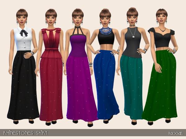 Rhinestones Skirt