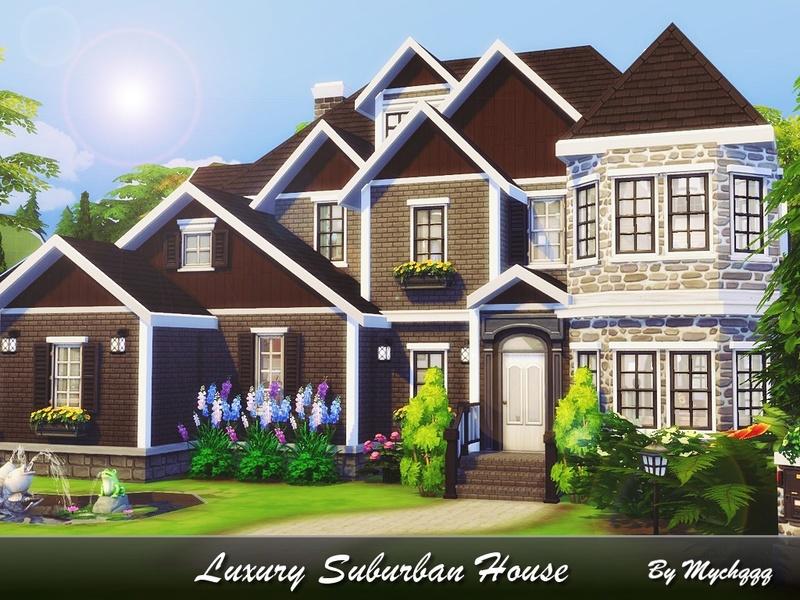 mychqqq s luxury suburban house