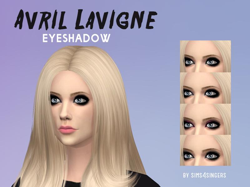 Erik98s Avril Lavigne Eyeshadow