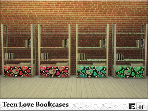 14 CreationsDownloads Sims 4 Object Recolors Furnishing Storage Bookshelves Searching For Teen
