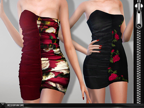 Sims 4 — MFS Rumi Dress by MissFortune — New mesh by me - Standalone - 10 colors - custom thumbnail.