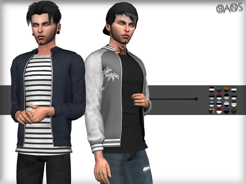 Sims 4 bomber jacket