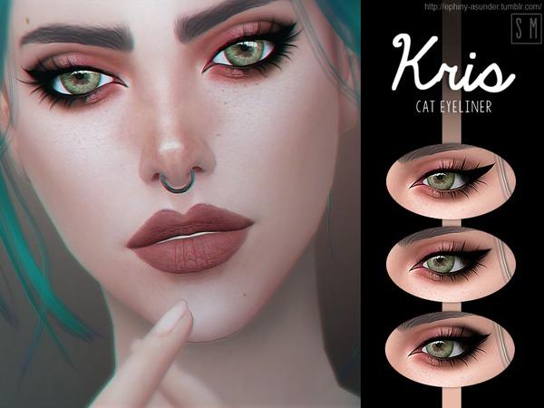 [ Kris ]   Cat Eyeliner
