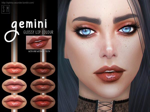 [ Gemini ]   Glossy Lip Colour