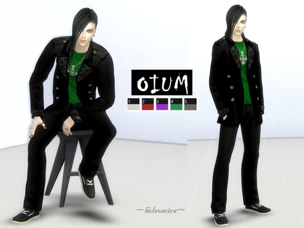 OIUM   Male outfit