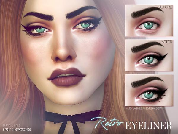 Retro Eyeliner N73