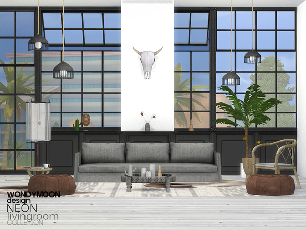 Neon Livingroom
