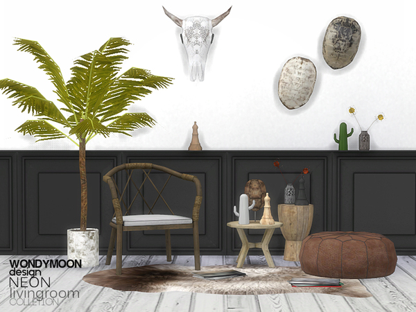 Neon Livingroom Decorations
