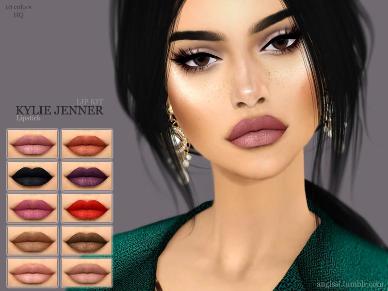 angissi s lipstick kylie jenner lip kit