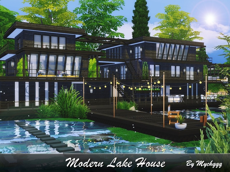 MychQQQs Modern Lake House