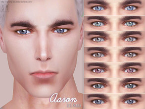 Sims 4 — [ Aaron ] - Eye Mask by Screaming_Mustard — A new simple eye mask. For males and females, toddler +. With custom