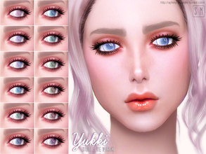 Sims 4 — [ Yukki ] - Doll Eye Mask by Screaming_Mustard — A new eye mask. For males and females, toddler +. With custom