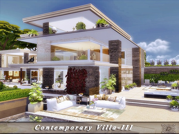contemporary villa-TSR