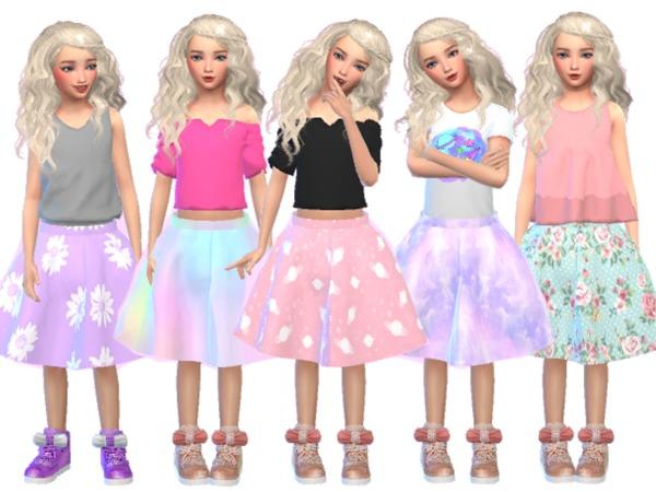 Kawaii Girls Skater Skirts