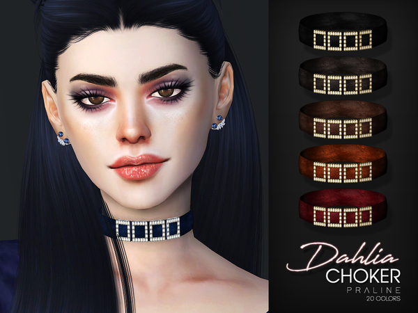 Dahlia Choker