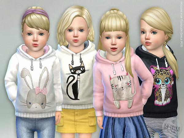 Hoodie for Toddler Girls P05