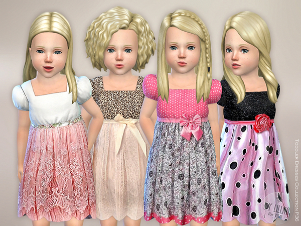 Toddler Dresses Collection P36