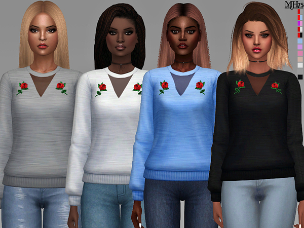 S4 Primarks Rose Sweaters