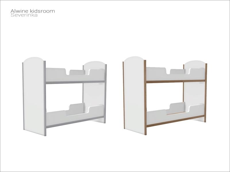 Severinka S Alwine Kidsroom Two Single Bed Frame High